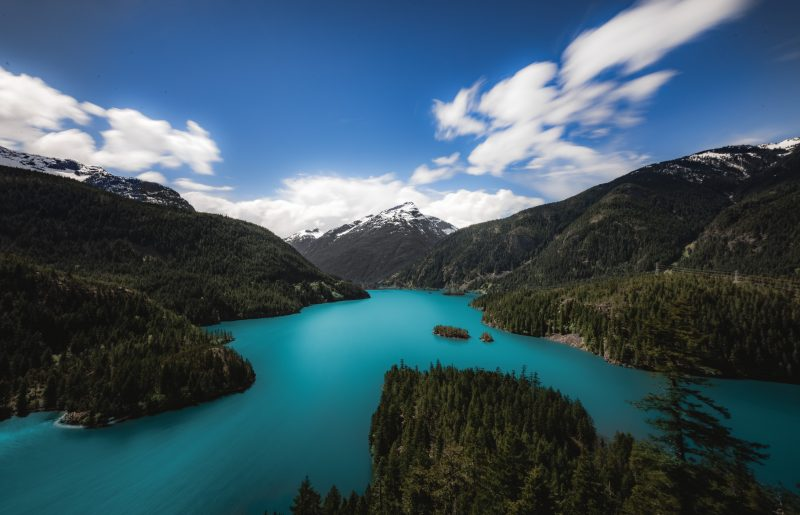 Diablo Lake Washington