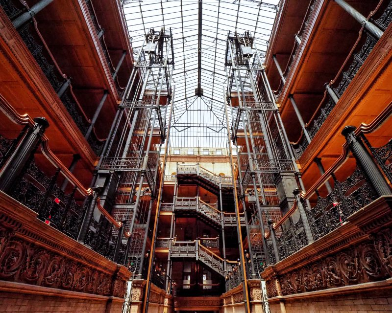 Bradbury Building Los Angeles Golightly