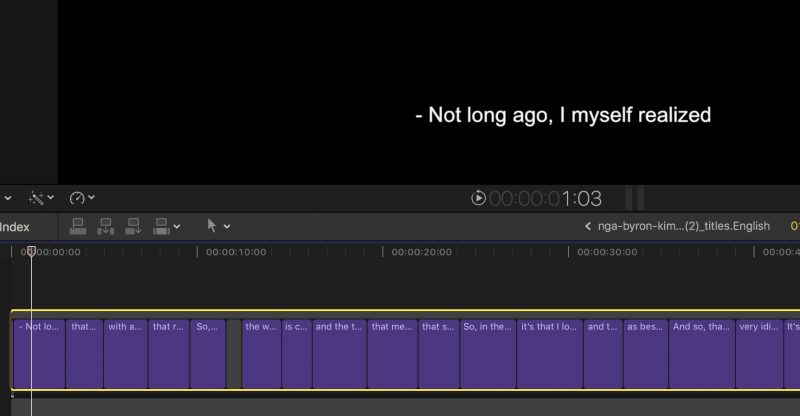 Fcpx Captions On Video