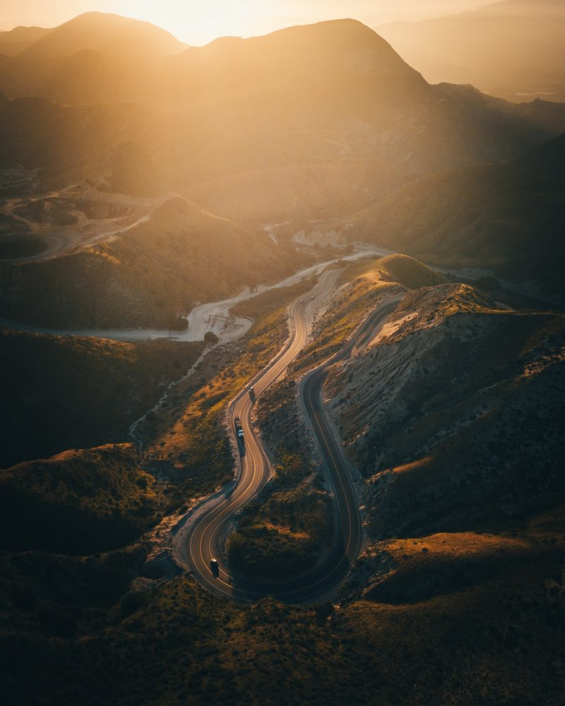 DJI Mavic Pro aerial photo above Grimes Canyon Road