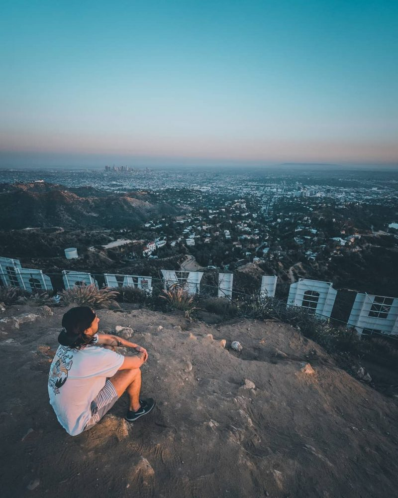 Hike Hollywood Sign Mvisuals