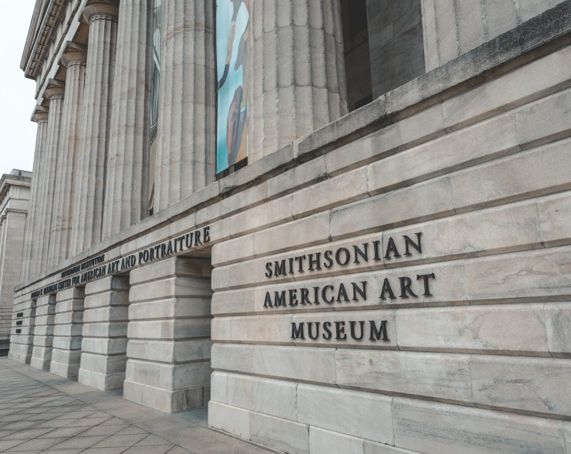 Smithsonian Saam Entrance