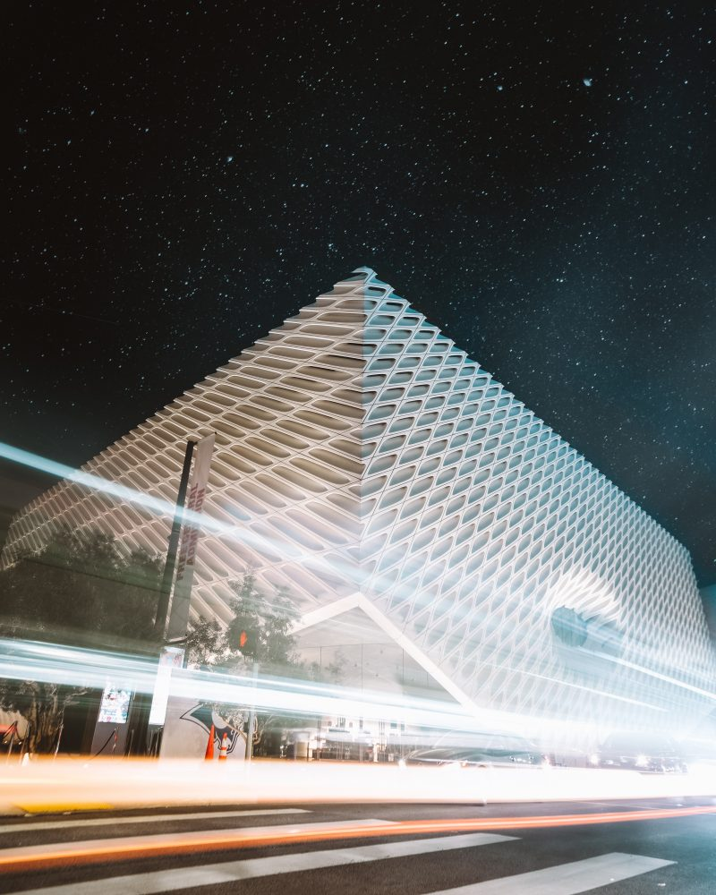 The Broad At Night La