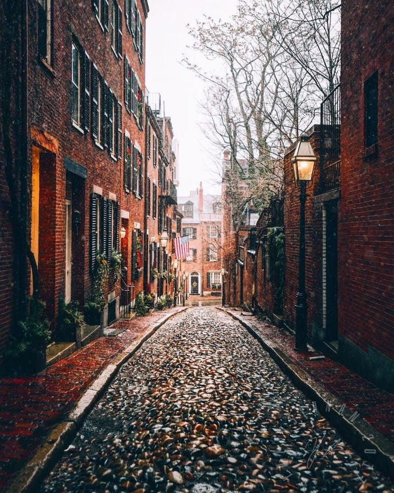 Acorn Street By Yanan.aurora