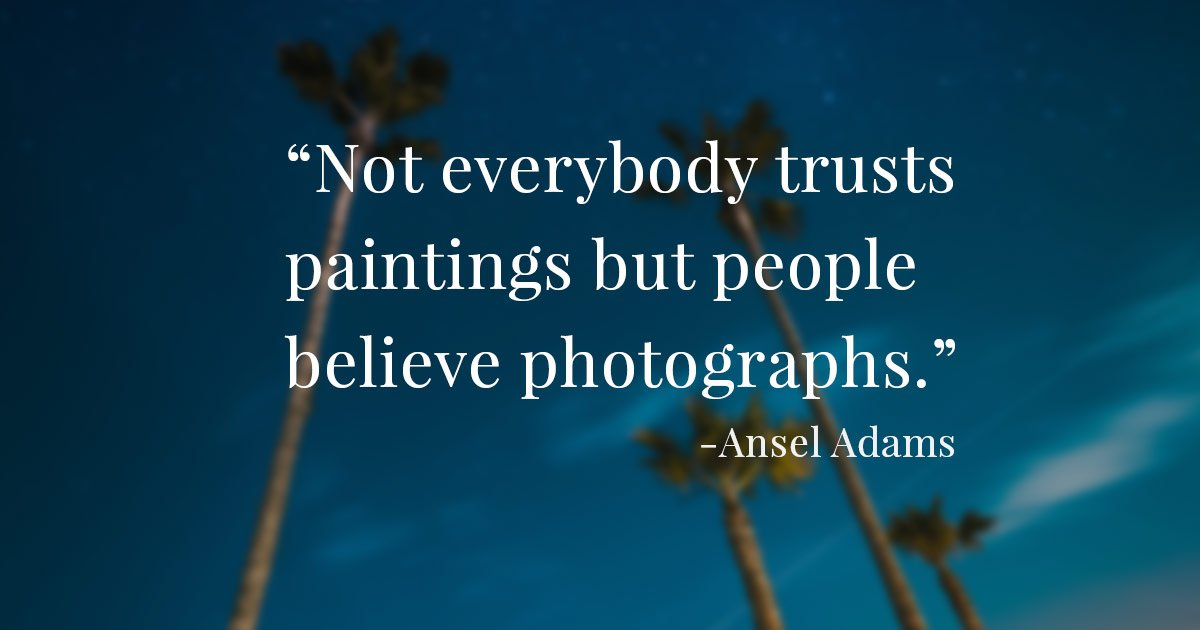150 Inspirational Quotes For Photographers In 2019