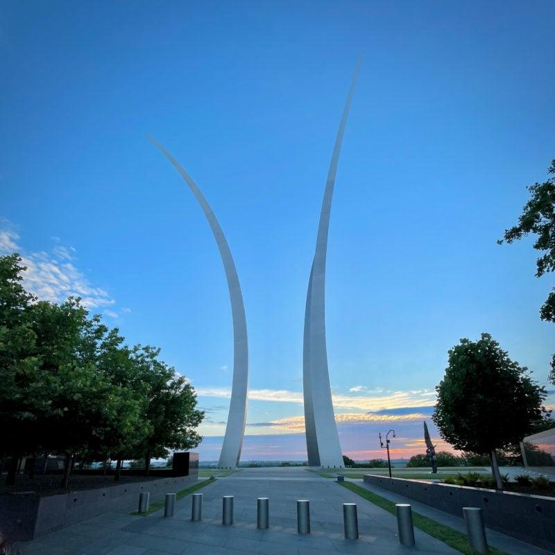Air Force Memorial sunrise