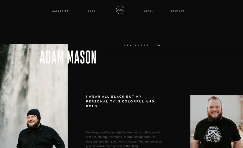Adam Mason About Page