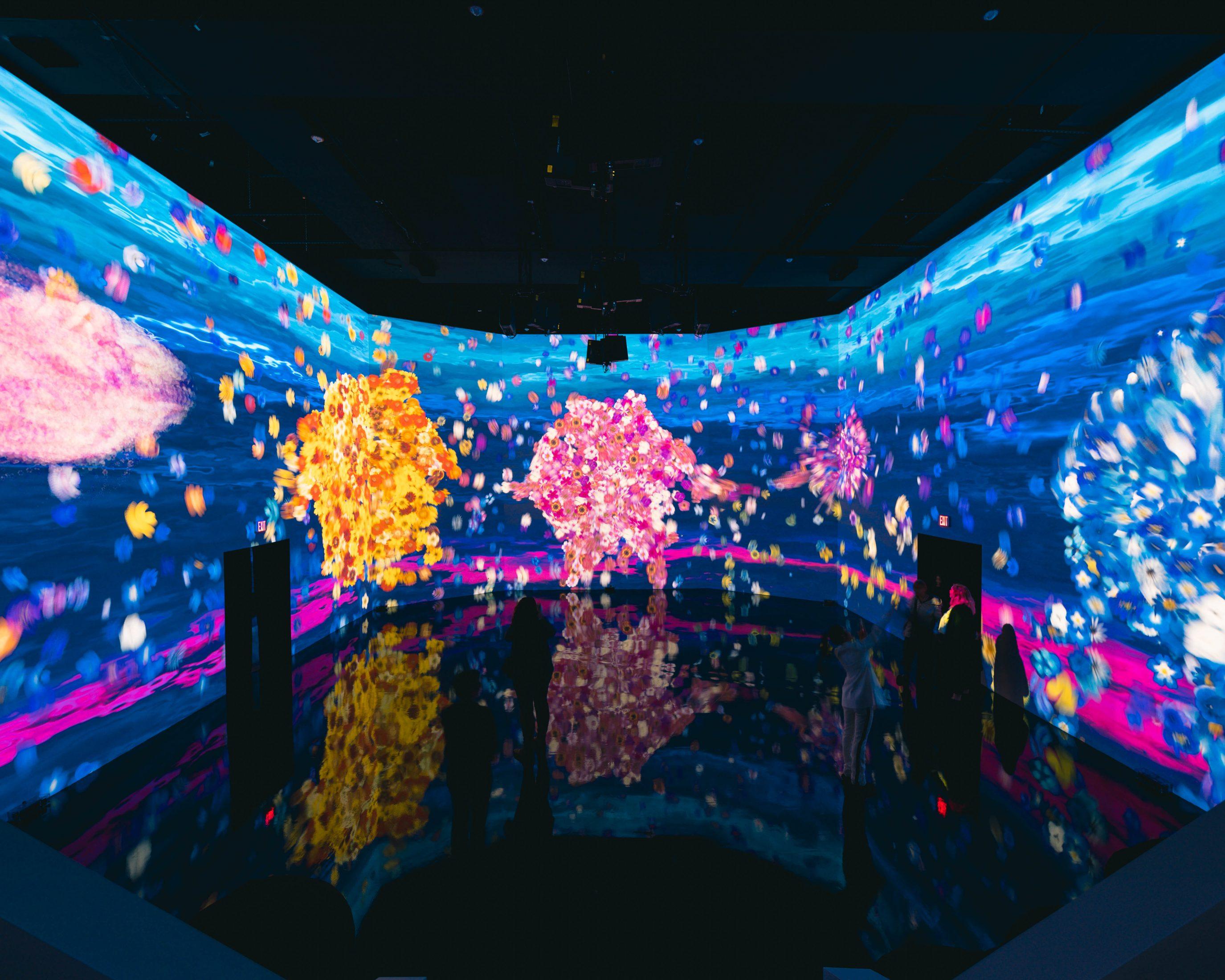 ARTECHOUSE Cherry Blossom Art Installation (Spring 2019)