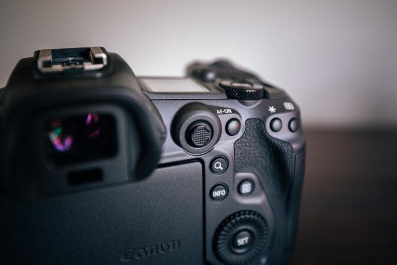 Canon EOS R5 Joystick
