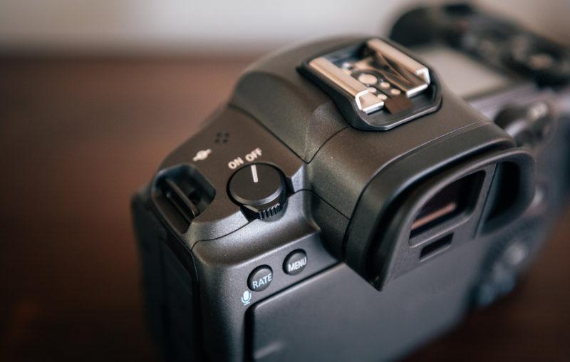 Canon EOS R5 Power Button